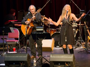 Paul Emery and Anni McCann (photo John Taber)